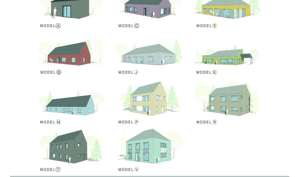 Diferentes modelos y diseños