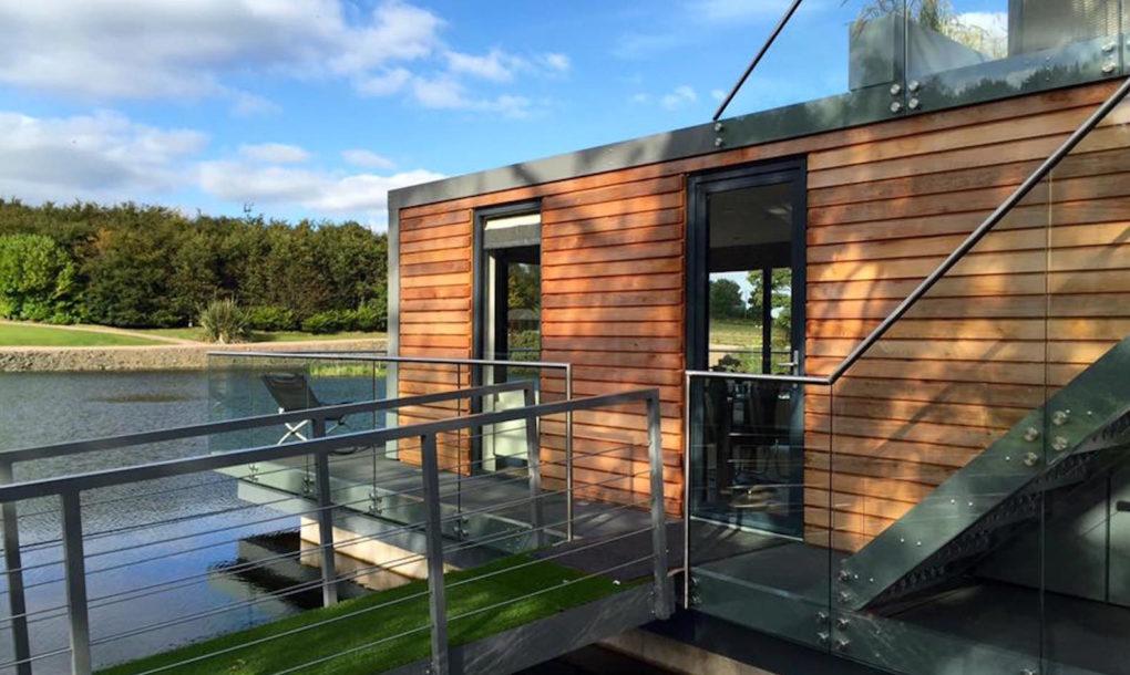 Casa modular y bonitra