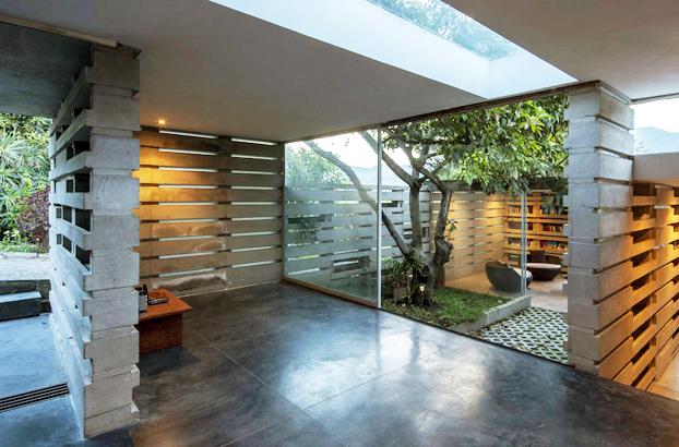 Hermosa casa abierta