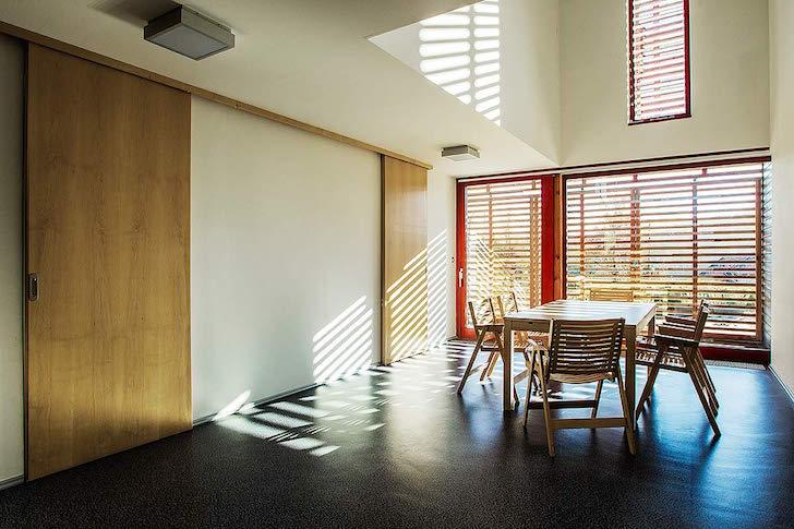 Un hogar moderno y sostenible