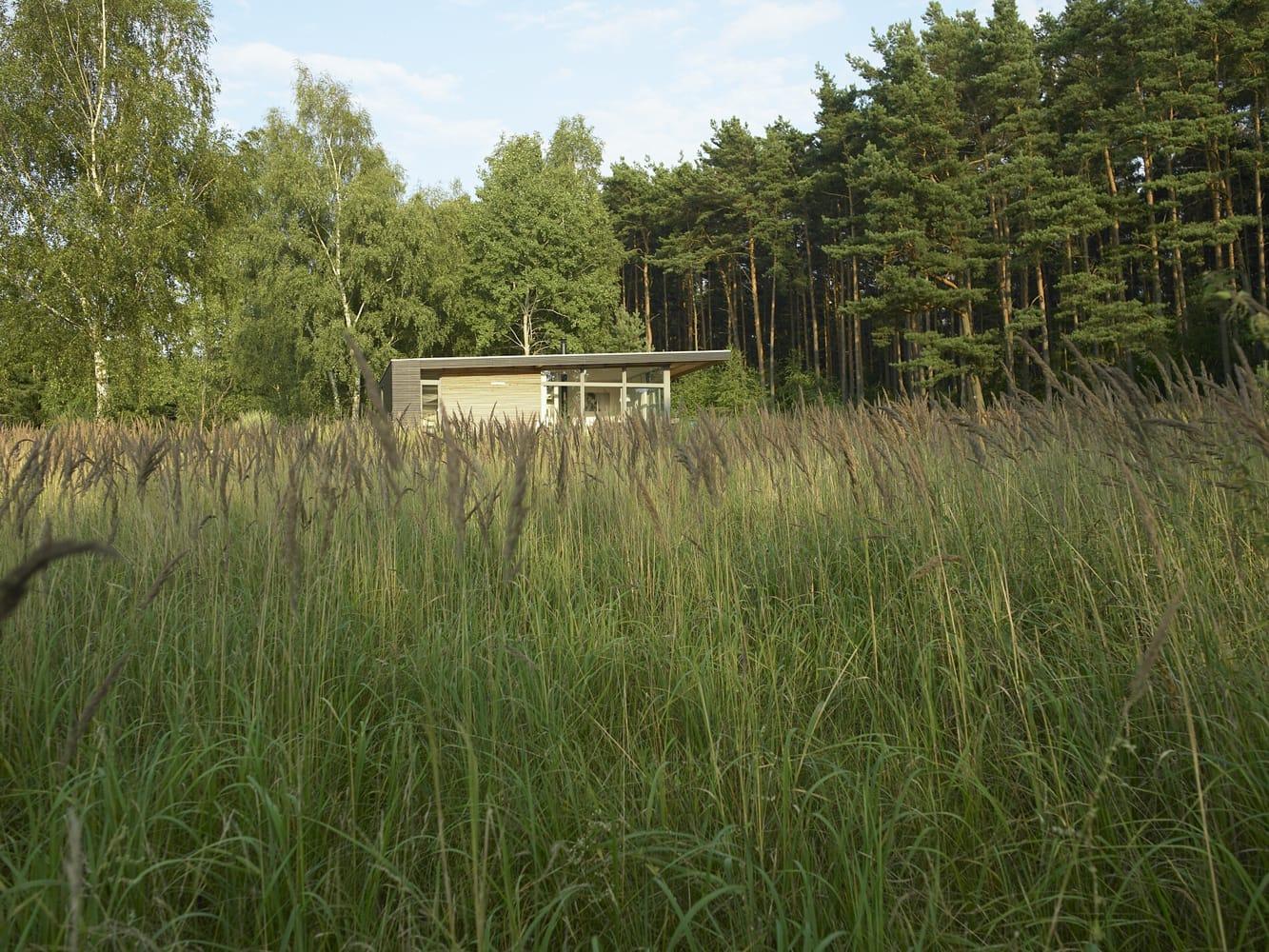 La casa en medio del bosque