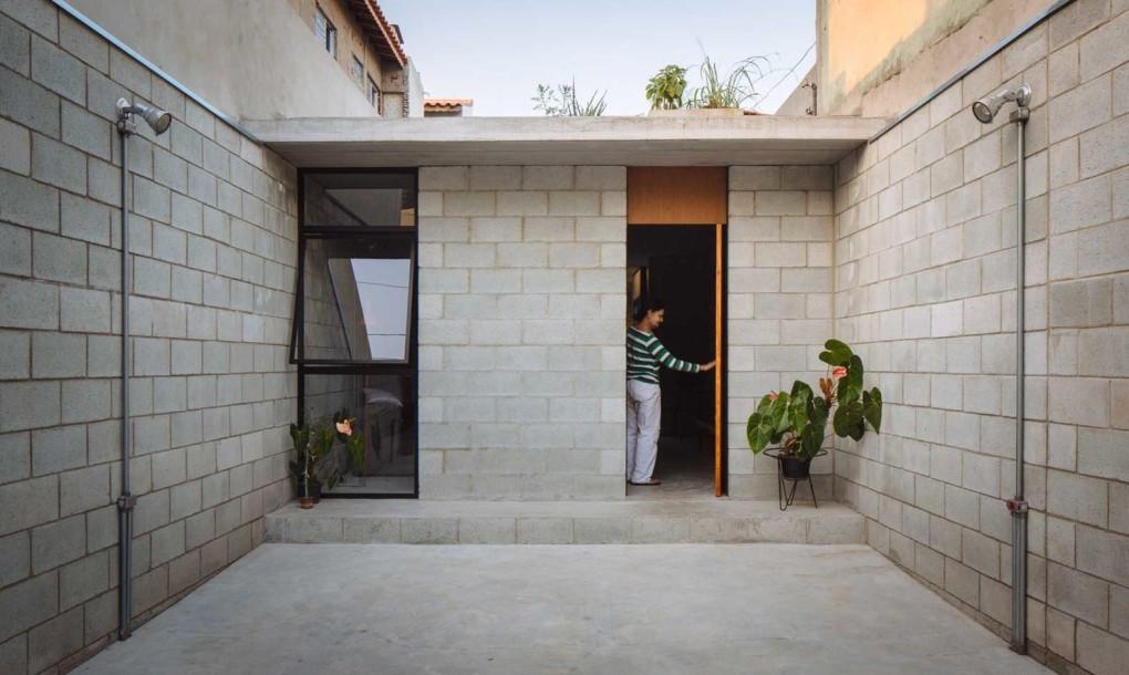 Bloques de concreto modernos