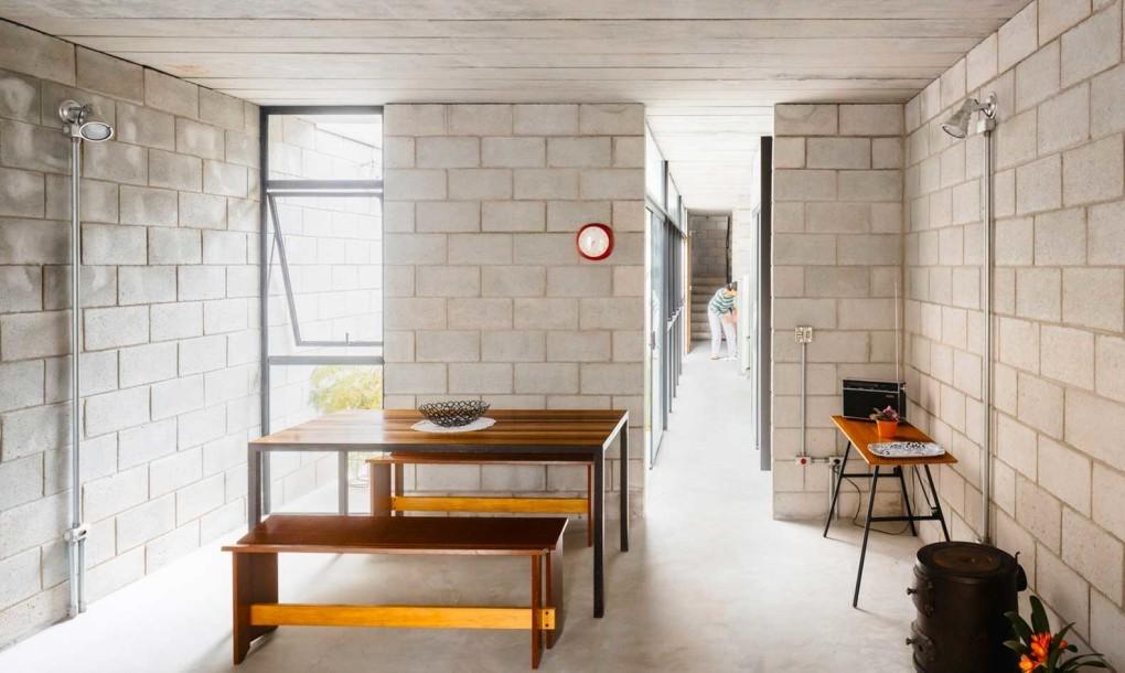 minimalista y de espacios abiertos