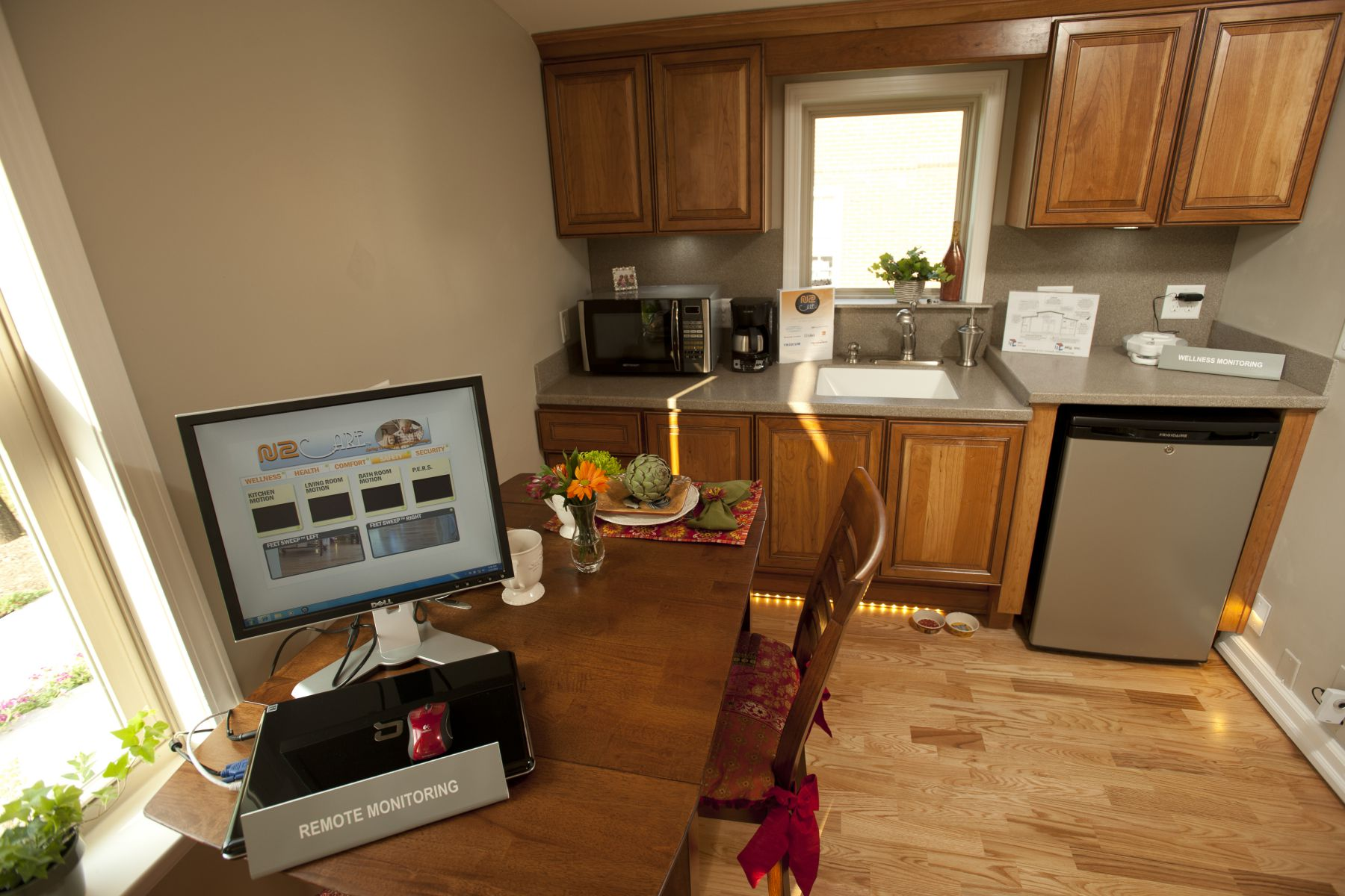 Una cocina moderna