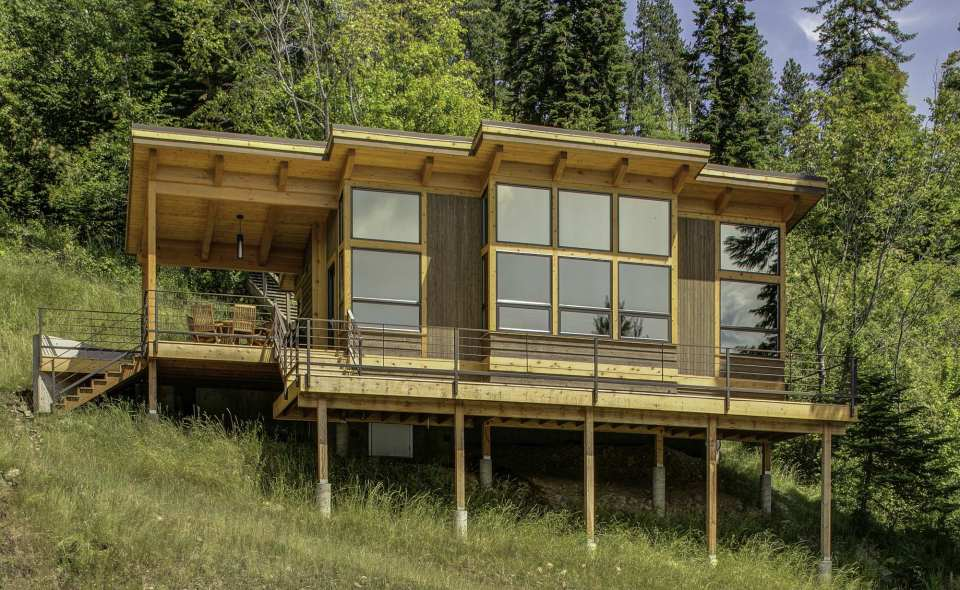 Diseño moderno de la casa