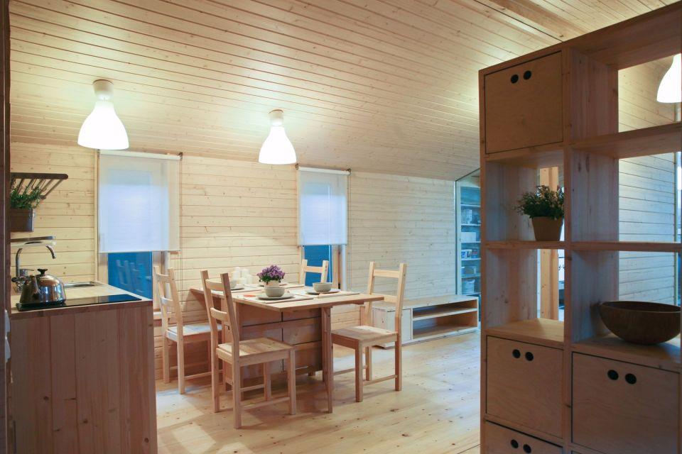 un interior moderno y agradable