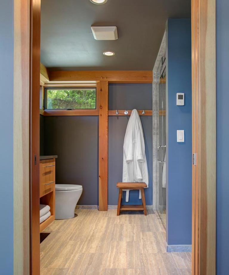 Diseño original del baño