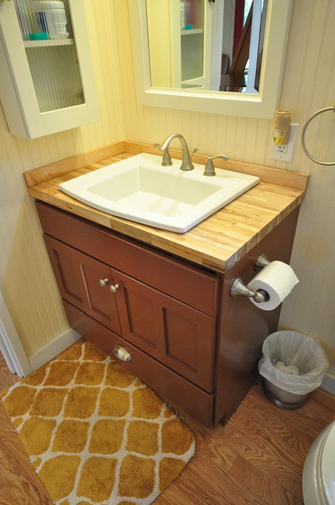 baño bonito e ideal para una casa moderna