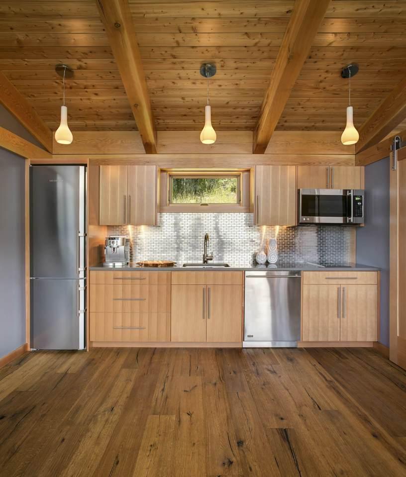 Una cocina muy moderna y elegante