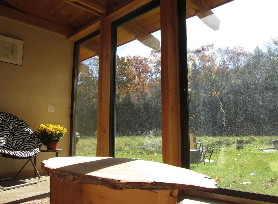 Amplias ventanas para ver la naturaleza