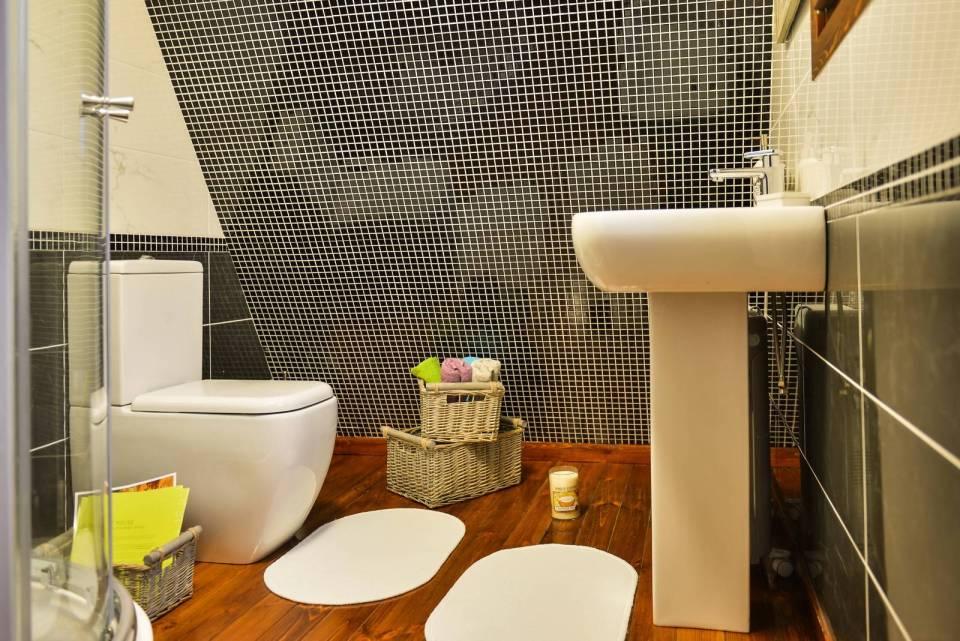 Diseño único de baño
