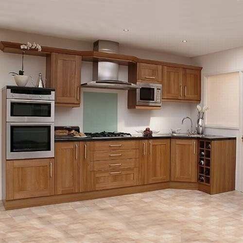 12 dise os de cocinas con muebles de madera - Disenos de cocinas de madera ...