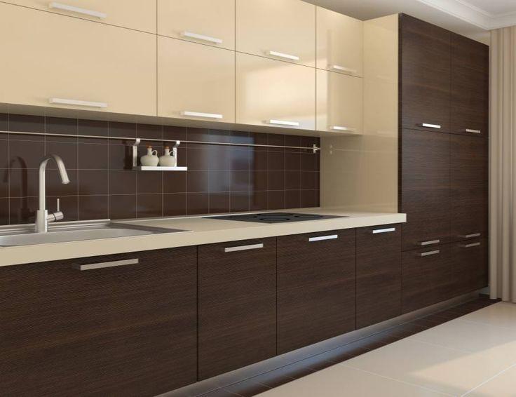 12 dise os de cocinas con muebles de madera - Muebles de madera de diseno ...
