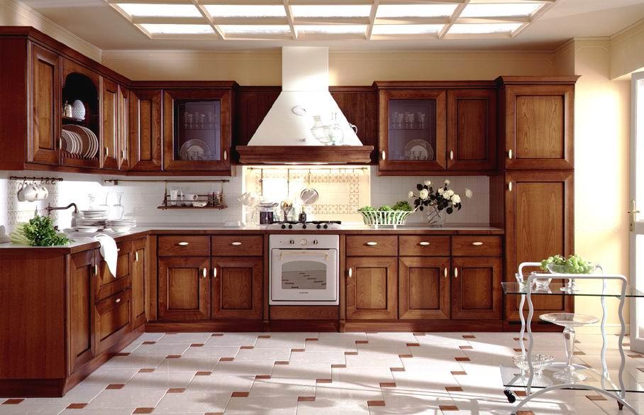 12 Diseños de cocinas con muebles de madera