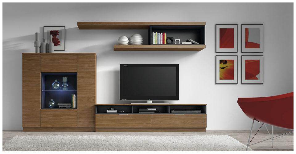 Muebles de madera modernos que transforman cualquier ambiente for Muebles para television de madera modernos