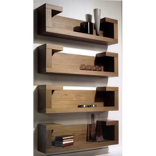 Muebles de madera modernos que transforman cualquier ambiente for Muebles para libros modernos