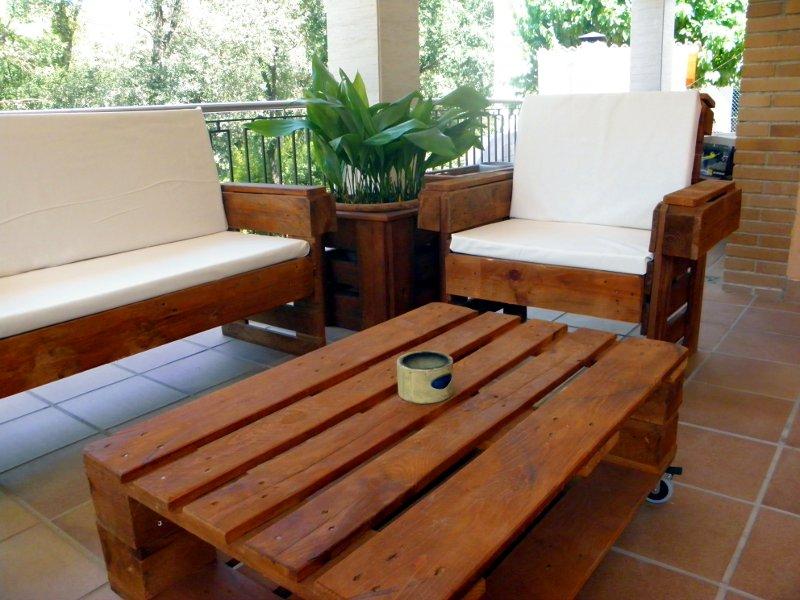16 ideas de muebles hechos con palets - Muebles palets reciclados ...