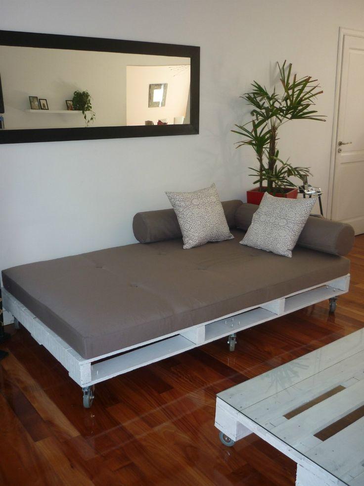 16 ideas de muebles hechos con palets - Muebles reciclados con palets ...